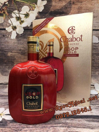 Rượu Armagnac Chabot VSOP RED