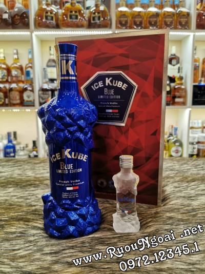 Rượu Ice Kube Blue Hộp Quà
