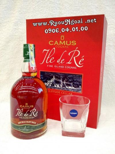 Rượu Camus Ile De Re Double - Hộp Quà