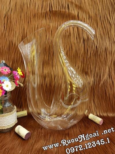 Bình Đựng Rượu Vang - Decanter Dáng Đẹp M01