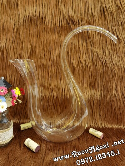 Bình Đựng Rượu Vang - Decanter Dáng Đẹp M03