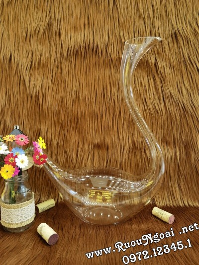Bình Đựng Rượu Vang - Decanter Dáng Đẹp M15