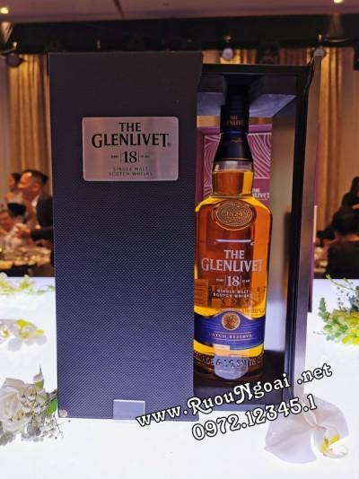 Rượu Glenlivet 18YO