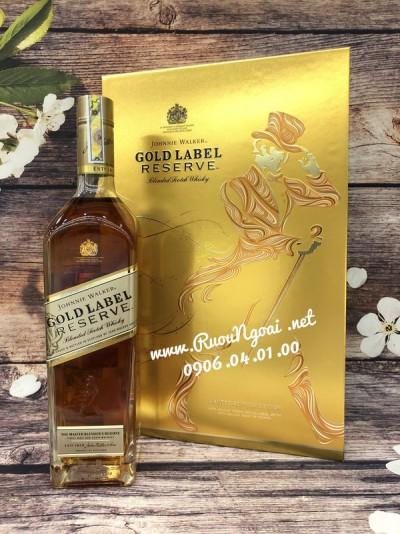 Rượu Johnnie Walker Gold Label - Hộp Quà 2019