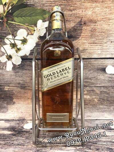 Rượu Johnnie Walker Gold Label 1750ml