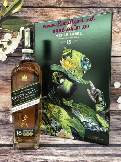 Rượu Johnnie Walker Green Label 15YO - Hộp Quà 2019