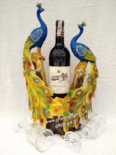 Kệ Rượu Vang Con Công Ms11