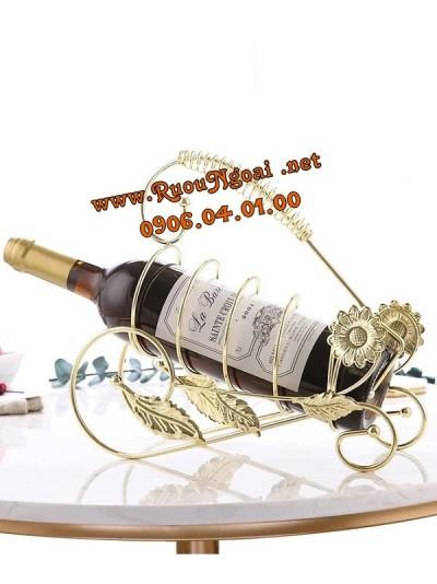 Kệ Rượu Vang Xe Thường Xuân