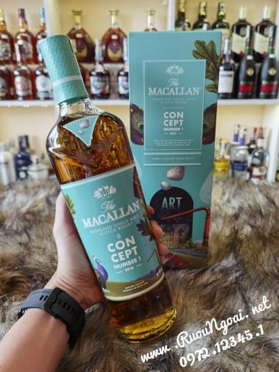 Rượu Macallan Concept Number 1