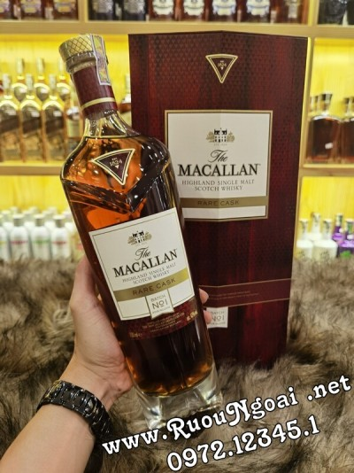 Rượu Macallan Rare Cask No1