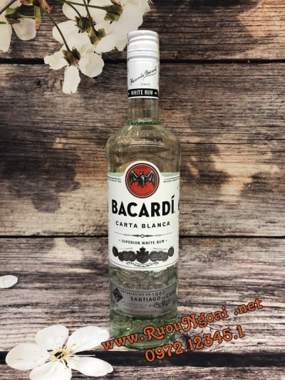 Rượu Bacardi Carta Blanca Superior White Rum