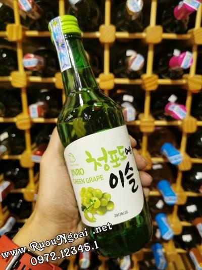 Rượu Soju Jinro Vị Nho
