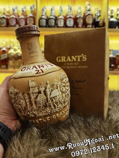 Rượu Whisky Grants 21 Old Year