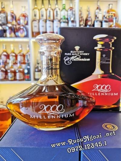 Rượu Suntory Pure Malt 2000 Millennium