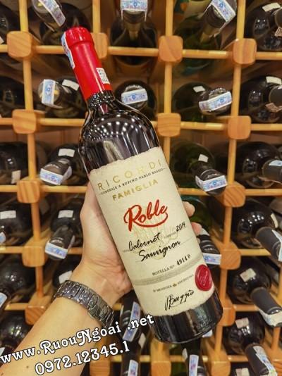 Rượu vang Argentina Roble Cabernet Sauvignon