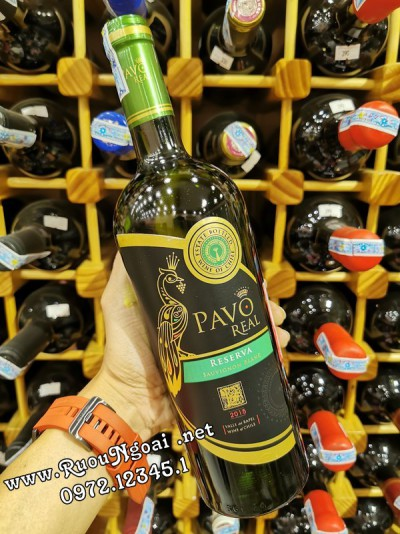 Rượu vang Pavo Real Reserva Sauvignon Blanc