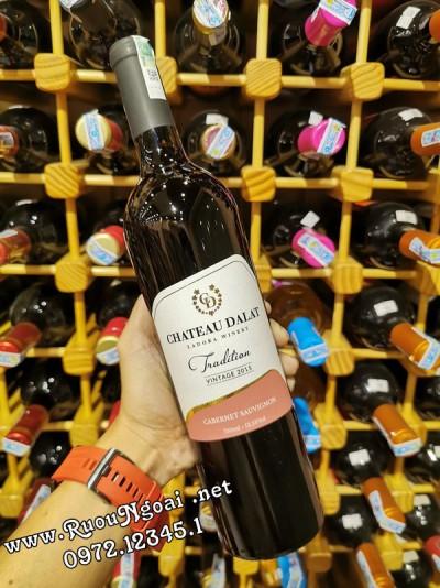 Rượu Vang Đà Lạt Chateau Tradition Cabernet Sauvignon