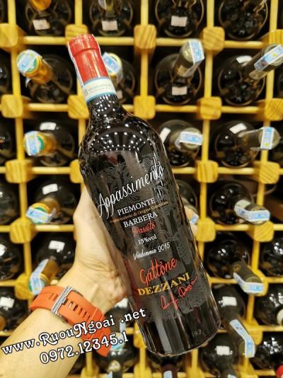 Rượu vang Appassimento Gattone Dezzani