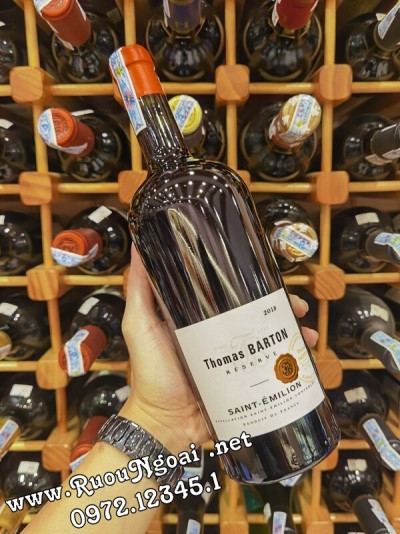 Rượu Vang Thomas Barton Reserve Saint Emilion