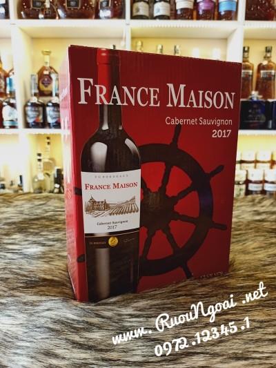 Rượu Vang Pháp France Maison