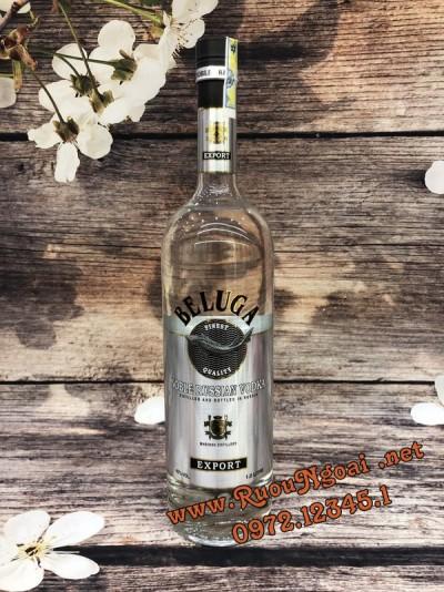 Rượu Vodka Beluga